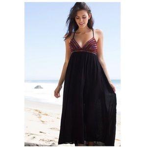 Billabong wild skies high low maxi dress